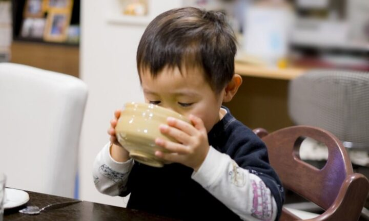 桑の葉茶子供